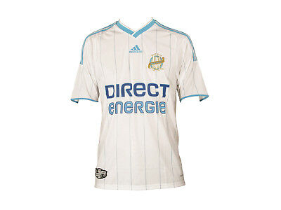 Adidas Olympique Marseille [Size Xxl ] Jersey White New & Original Packaging