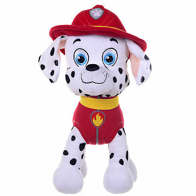 "New Official 12"" Paw Patrol Marshall Pup Plush Soft Toy Nickelodeon Dogs"