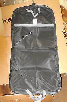 NWT Horizon 7737 Releve Garment Black Bag Grey Trim