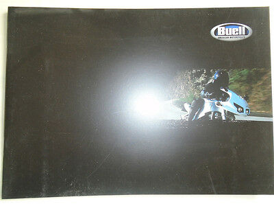 Buell Motorcycles range brochure 2002 Italian text + price list