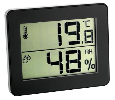 Hygrometer-Station Tfa 30.5027 Ultra-Flat Climate Control Thermometer-Hygrometer