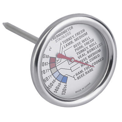 Kitchen Meat Thermometer Stainless Steel Food Cooking BBQ Steak Probe QW
