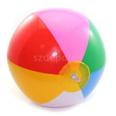 14 Inch Panel Inflatable Kids Boys Beach Ball Toy Holidy Swimming Pool Party