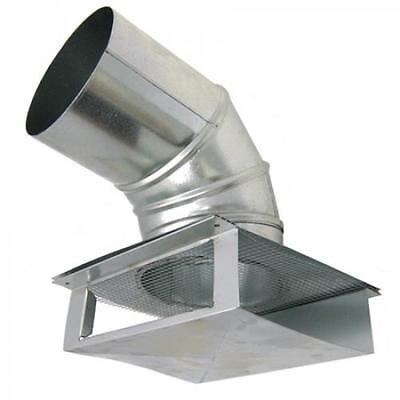 "6"" Universal Wall / Soffit Exhaust Vent"