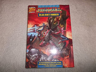 Mutants and Masterminds Deluxe Hero's Handbook 10th Anniversary Edition