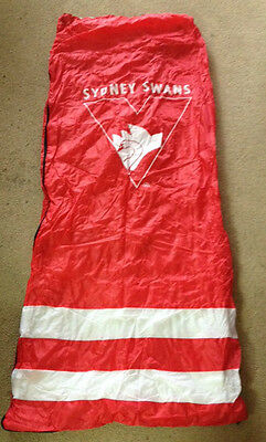 Afl Sydney Swans Sleeping Bag Official Licenced Product Brand New