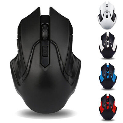 2.4GHz Wireless 7D Rechargeable 2400DPI 6 Buttons Optical Usb Gaming Mouse Mice