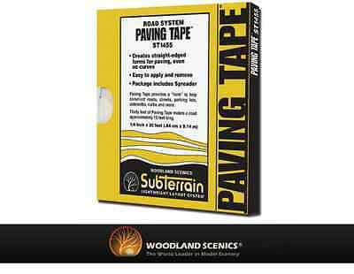 Woodland Scenics ST1455 Paving Tape™ Roll .25in x 30ft