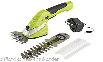 Garden Gear 7.2v Lightweight Cordless Hedge Trimming Shears Trim Shape with ease