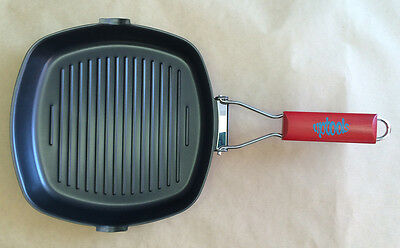 SunnCamp Griddle Pan with Fold Away Handle - Camping Caravanning Fishing & Home