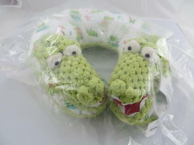 Maison Chic ALEX THE ALLIGATOR Travel Neck Pillow for Infant Baby Head Support