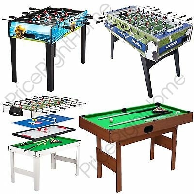 Kids Games Tables - Football And Pool Tables - Play Sets - Indoor Sport Free P+P