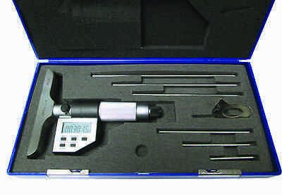 "0 - 6"" / 0 - 150mm Electronic Depth Micrometer"