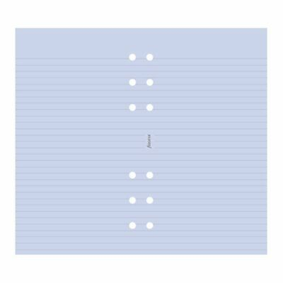 Filofax Papers Ruled Notepaper, Lavender Personal Size- NEW