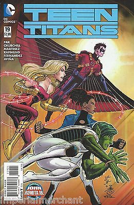 DC Teen Titans comic issue 19 Limited variant