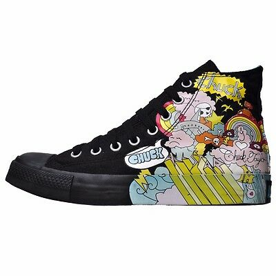 Converse All Star Chucks UE 375 UK 5 Bart Homer Simpsons Grigio Limited Edition