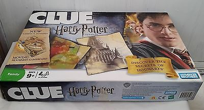 Harry Potter Edition Clue board game hogwarts gameboard Parker Brothers family
