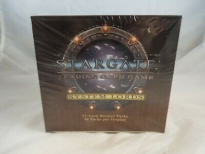 Stargate Ccg Tcg Sealed Box Of System Lords Booster Packs