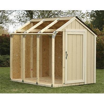 Blitz U.s.a. I Peak Roof Shed Kit 90192