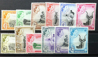 SWAZILAND 1956 Complete to 2R U/M NEW LOWER PRICE FP6694
