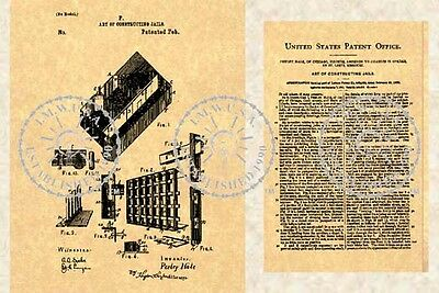 PRISON JAIL CELL - POLICE STATION US Patent #464