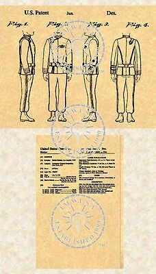 STAR TREK Costume OUTFIT Insignia US Patent #160