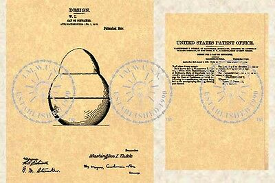 US Patent for the ROLY POLY TOBACCO TIN 1912 #324