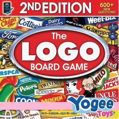 Moose Games The Logo Board Game 2nd Edition