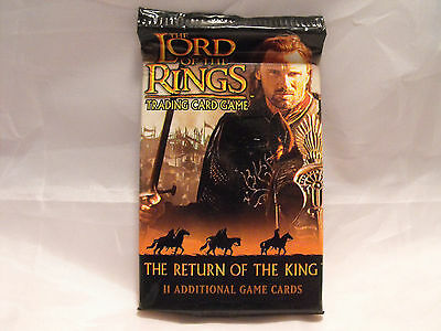 Lord Of The Rings Tcg Return Of The King Sealed Booster Pack Of 11 Cards