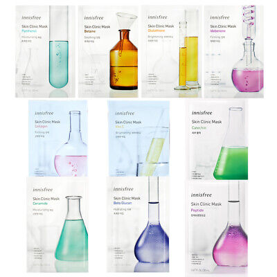 Innisfree Skin Clinic Mask 20ml x 6pcs Renewal
