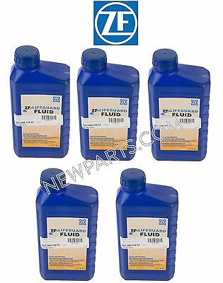 For BMW Jaguar Porsche VW Audi 5 Liter Auto Transmission Fluid ZF LIFEGUARD