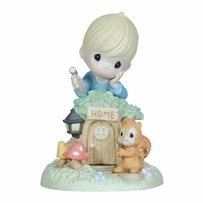 Precious Moments Home is with You Porcelain Figurine Statue - #121019