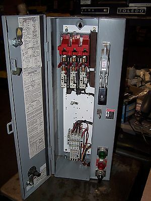 Cutler Hammer Size 0 Fusible Combination Motor Starter 5 Hp An16Bn0  Coil 120V