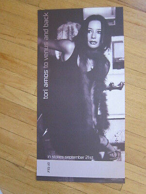 TORI AMOS To Venus and back promo poster 12x24