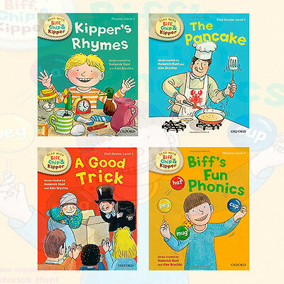 Oxford Reading Tree Read with Biff, Chip and Kipper Collection 4 Books Set , New