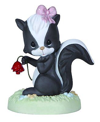 Precious Moments Our Love is Heaven Sent Skunk Figurine #124016