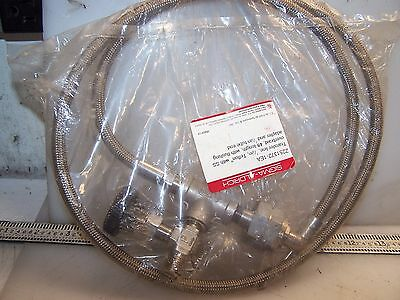 "New Sigma Aldrich Transfer Line 4 Ft Flushing Adapter & 1/4"" Tube End  Z251372"