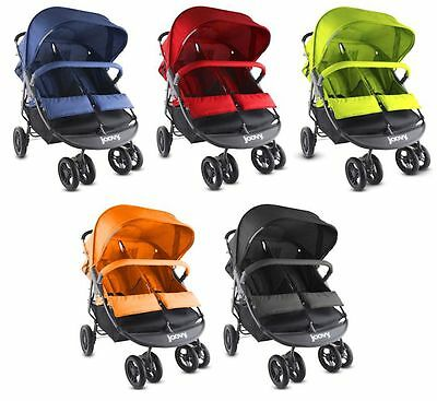 Joovy Scooter X2 Side-by-Side Twin Baby Double Stroller 5 Color Choice NEW