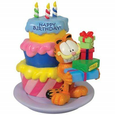 Happy Birthday! Garfield Collectible Figurine Statue - Westland Giftware