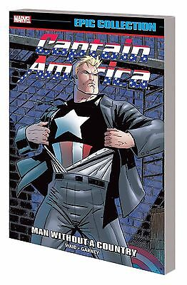 Captain America Epic Collection: Man Without A Country Softcover