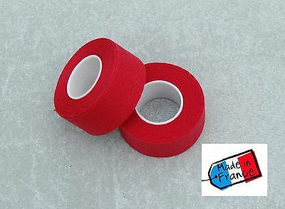 Guidoline bar tape red cotton Velox Tressorex 85 vintage bike handlebar tape