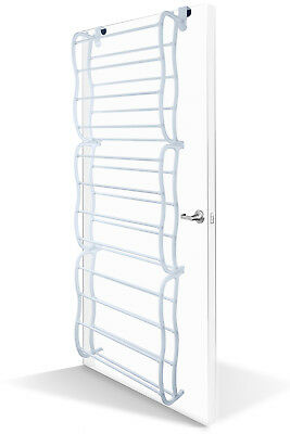 Over-The-Door Shoe Rack for 36 Pair Wall Hanging Closet Organizer Storage Stand