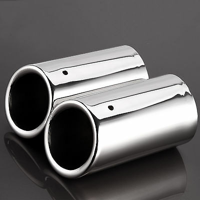 Exhaust Tailpipe Trim Tip for VW Scirocco 2008-2014 Stainless Steel