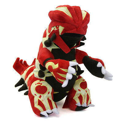 "Pokemon 15"" Plush - PRIMAL GROUDON New 15 Inch (Ruby Sapphire) Stuffed Plushie"