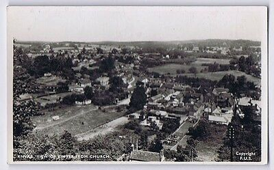 KINVER View of Village from the Church, RP Postcard by Frith