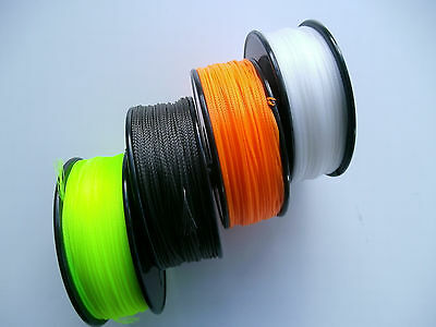 HOLLOW BRAIDED BACKING LINE - 75mts / 30lb B.S. - VARIOUS COLOURS