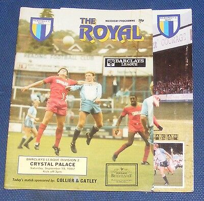 Reading Home Programmes 1987-1988