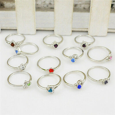 Wholesale Lot 40Pc New Jewellery Silver Pld Assorted Children Kid's Party Ring