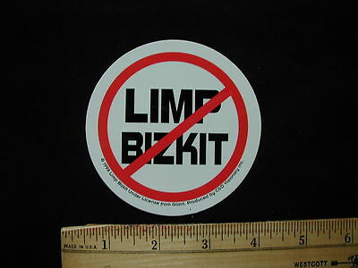 Limp Bizkit No Logo Sticker New