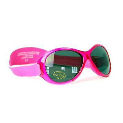 Baby Banz Retro Sunglasses 100% UVA/UVB Protection (Ages 0-2yrs) Pink